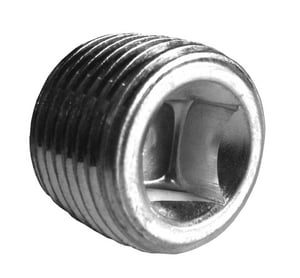 Carbon Steel Square Countersunk Plug BSSCP