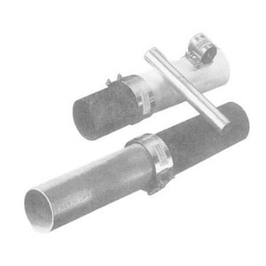 Mission Rubber Band-Seal® 5 in. Cast Iron x PVC Stainless Steel Specialty Coupling MCP55