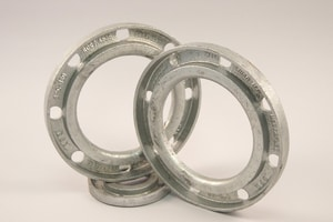 2 in. 200 psi 150# SDR 11 Galvanized Ductile Iron Backup Flange Ring IBUPSDR1102BHDG