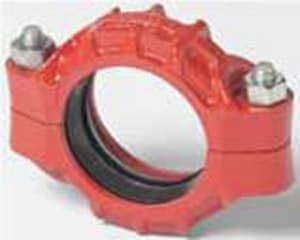 Victaulic FireLock™ Style 77 20 in. Grooved Painted Ductile Iron Coupling with E Gasket VL200M77PE0