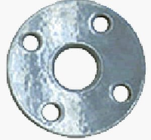 8 in. Slip-On 600# Standard Carbon Steel Raised Face Flange G600RFSOFX