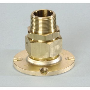 Omega Flex 1-1/4 in. MNPT Brass Flange Fitting OFGPBFF1250