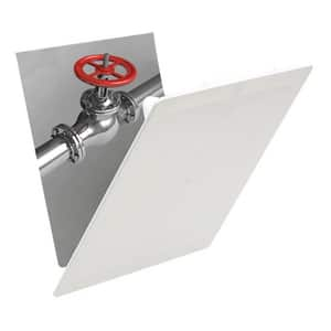 Fluidmaster 14 x 14 in. Accessory Panel White FAP1414