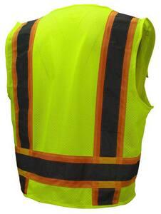Radians Surveyor Safety Vest in Hi-Viz Green RSV62ZGM