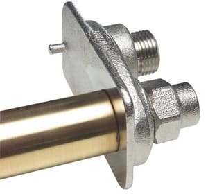 Prier Products C-634 Satin Nickel 1 x 3/4 in. MPT x FPT Wall Hydrant PC634N16