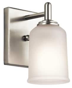 Kichler Lighting Shailene 100W 1-Light Medium E-26 Base Incandescent Wall Sconce KK45572
