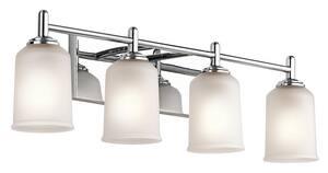 Kichler Lighting Shailene 100W 4-Light Medium E-26 Base Incandescent Bath Light KK45575