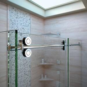 Dreamline® Enigma 60-1/2 in. Frameless Sliding Shower Enclosure with Clear Tempered Glass DSHEN60366012