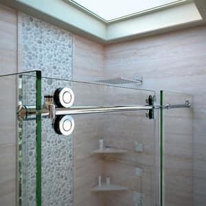 Dreamline® Enigma 72-1/2 in. Frameless Sliding Shower Enclosure with Clear Tempered Glass DSHEN60367212
