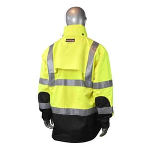 Radians Size Heavy Duty Rain Jacket RRW323Z1Y at Pollardwater