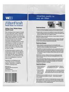 Web Products FilterFresh 6 in. Gardenia Scent Air Filter Freshener WGARDENIA