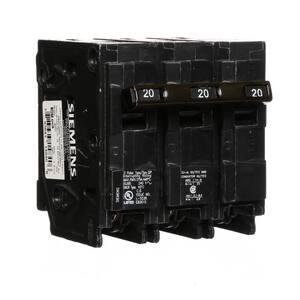 Siemens Energy & Automation 240V 3-Pole Plug-In Circuit Breaker SQ3