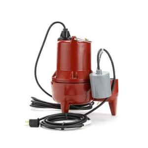 Liberty Pumps LE40 Series 4/10 hp 115V Sewage Pump LLE41A