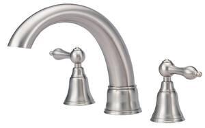 Danze Fairmont™ 3-Hole Roman Tub Faucet Trim Kit with Double Lever Handle DD308840T