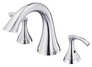 Danze Antioch® 3-Hole Roman Tub Faucet with Double Lever Handle Metal Deckmount DD300922T