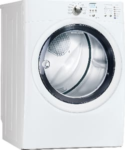 Electrolux Home Products IQ-Touch™ 27 in. 8 cf 120/240V 11-Cycle Front Load Dryer with Touch Control EEID50LIW