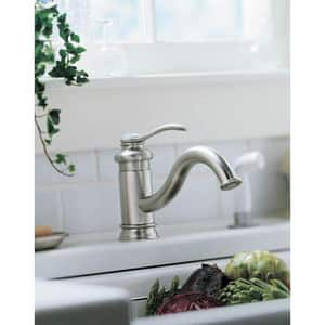 Kohler Fairfax® 1.5 gpm 2-Hole Single Lever Handle Deckmount Kitchen Sink Faucet Swing Spout 3/8 in. Compression Connection K12176