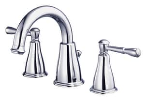 Danze Eastham™ 1.2 gpm 3-Hole Widespread Lavatory Faucet with Double Lever Handle DD304115