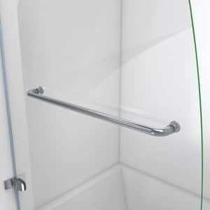 Dreamline® Aqua Uno 34 in. Frameless Hinged Tub and Shower Door with Clear Tempered Glass DSHDR3534586
