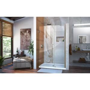 Dreamline® Unidoor 47 in. Frameless Hinged Shower Door with Tempered Glass DSHDR20467210