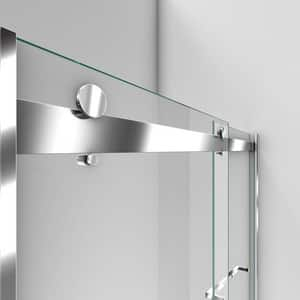 Dreamline® Essence 60 in. Frameless Bypass Shower Door with Clear Tempered Glass DSHDR6360760