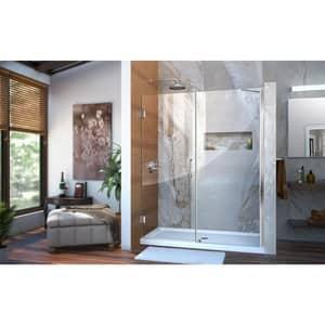 Dreamline® Unidoor 58 in. Frameless Hinged Shower Door with Tempered Glass DSHDR20577210