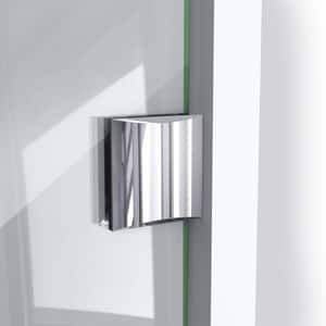 Dreamline® Prism Lux 40-3/8 in. Frameless Hinged Shower Enclosure with Tempered Glass DSHEN2240400