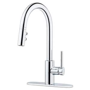 Pfister Stellen™ 1-Hole Pull-Down Kitchen Faucet with Single Lever Handle PLG529SA