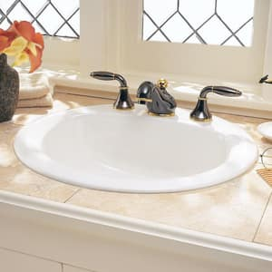 American Standard Rondalyn™ 3-Hole Drop-In Lavatory Sink A0490011