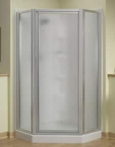 Sterling Plumbing Group Intrigue™ 72 x 39 in. Neo-Angle Shower Door in Silver SSP2276A38S