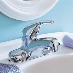 American Standard Colony® Soft 3-Hole Lavatory Faucet with Single Lever Handle A2175500