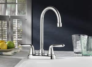 American Standard Colony® Soft 2.2 gpm Double Lever Handle Bar Faucet A2475500