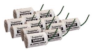 Superior Signal 8000 cf Smoke Candle 12 Pack S2B at Pollardwater