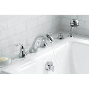 Kohler Forte® Sculpted Deckmount Bath Faucet Trim for High-Flow Valve (Less Valve) KT10278-4