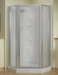 Sterling Plumbing Group Intrigue™ 72 x 39 in. Neo-Angle Shower Door in Nickel SSP2276A38N