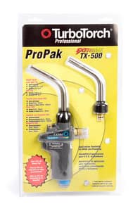 Victor Turbo Torch TurboTorch® Tx504 Self Light Propane Torch & T-503 Tip TTX500