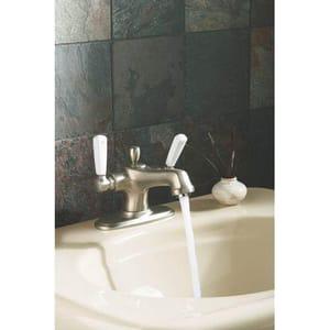 Kohler Bancroft® 1-Hole Bathroom Sink Faucet with Double Lever Handle K10579-4P