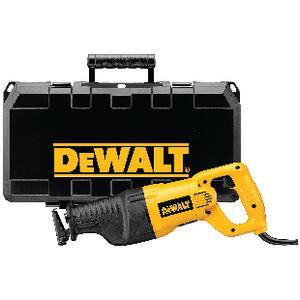 DEWALT 12A Amp 18 in. Keyless Reciprocating Saw Kit DDW310K