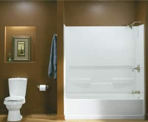 Sterling Plumbing Group Advantage™ 60 x 30 in. 4 Pack Left-Hand Bath Tub Advantage in White S610314100