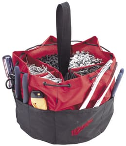Milwaukee 50-Pocket Open Tool Bag in Black and Red M49170180
