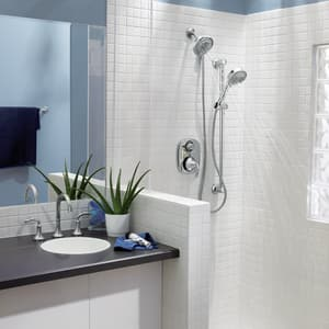 Moen Icon™ Trim with Built-In 3-Function Transfer Valve MTS4112