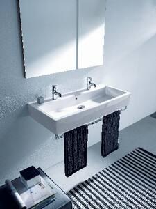Duravit USA Vero® 2-Hole Countertop Wash Basin in White D04541000241