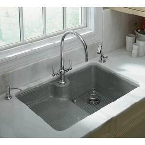 Kohler HiRise™ 1.5 gpm Double Lever Handle Sink Faucet K7341-4