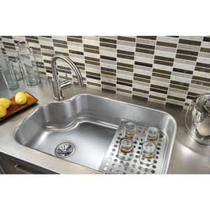 Elkay The Mystic® 32 x 21 x 8 in. Rectangle Bar Sink Stainless Steel EMYSTIC3021BG