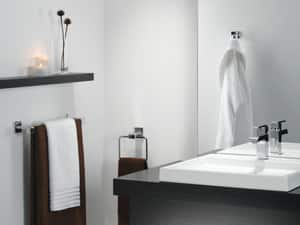 Delta Faucet Arzo® Towel Ring Brass D77546