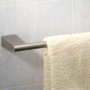 Gatco Bleu 24 in. Towel Bar in Satin Nickel GAT4730