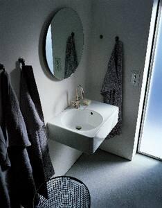 Duravit USA Scola Single Hole Countertop Wash basin in White D0684600000