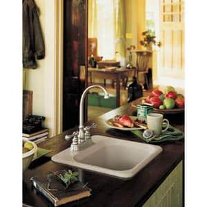Kohler Revival® 3-Hole Centerset Bar Sink Faucet with Double Lever Handle K16112-4A
