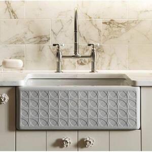 Kohler Parq® 3-Hole Kitchen Sink Faucet with Double Tri Handle K6130-3