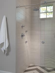 Delta Faucet 2.5 gpm 1-Function Showerhead DRP52382